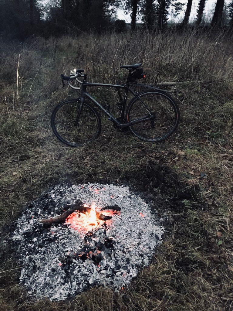 road cycling and bonfires
