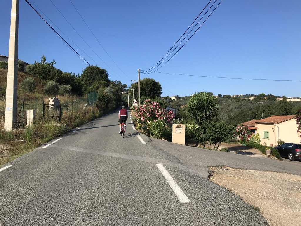 Cycling the Grand Duc de Pegomas